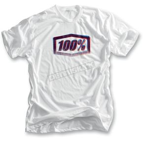 100% White Xerox T-Shirt  - 32003-000-12