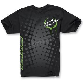 Alpinestars Black Daredevil T-Shirt - 1013-7205010M