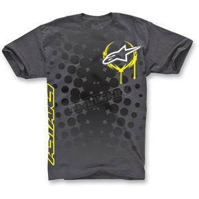 Alpinestars Graphite Daredevil T-Shirt - 1013-7205014L