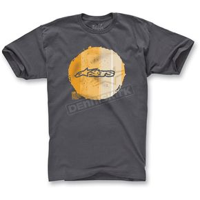 Alpinestars Graphite Copy Dot T-Shirt - 1013-7205214L