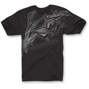 Alpinestars Black Fog T-Shirt - 1013-7205410S