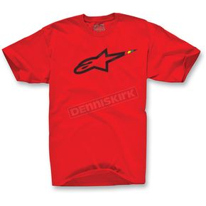 Alpinestars Red Howzit T-Shirt - 1013-7205530L