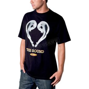 FMF Black Love Sound T-Shirt - F211S18106BLKL