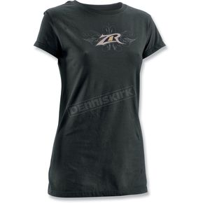 Z1R Womens Flare Black T-Shirt - 3031-1167