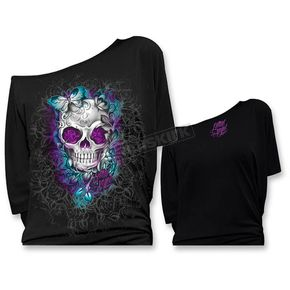 Lethal Threat Womens Off the Shoulder Shirts - LT20367M
