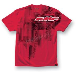 FMF Boys Red Linex T-Shirt - F422S18102REDM