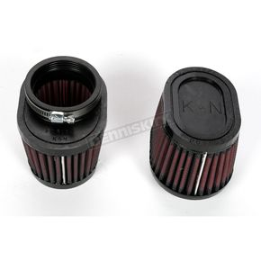 K & N Oval-Type Custom Clamp-On Air Filter Kit - RU-0982