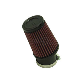 K & N Universal Snow Filter w/2 7/16 in. Mounting Flange - 3 3/4 in. Round Base x 3 in. Top x 5 in. Long - SN-2520