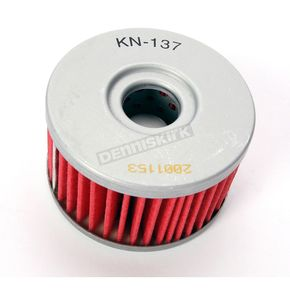 K & N Performance Gold Oil Filter - KN-137