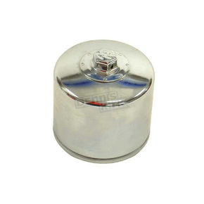 K & N Chrome Oil Filter - KN-172C