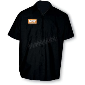 Throttle Threads NOS Shop Shirt - HOL1S24BK3R