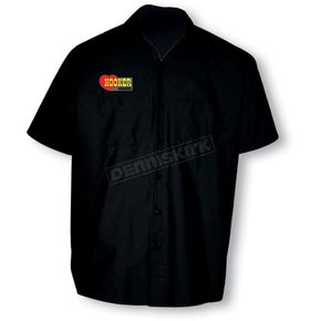 Throttle Threads Hooker Shop Shirt - HOL2S24BKMR