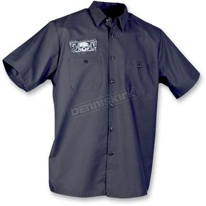 Throttle Threads Deuce Shop Shirt - TT325S24BKMR