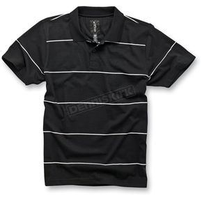 Alpinestars Black Executor Polo Shirt - 10324100010XL