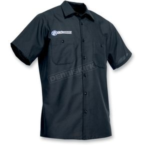 Throttle Threads Performance Machine Shop Shirt - PFM20S24BK2R