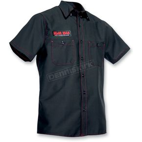 Throttle Threads Arlen Ness Innovate Shop Shirt - ARN50ST8BR2R