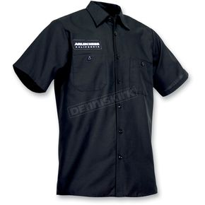 Throttle Threads Arlen Ness Shop Shirt - ARN52S24BK2R