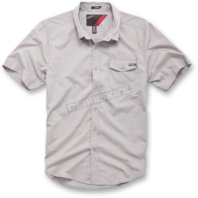 Alpinestars Gray Block Out Shirt - 1013-3200211L