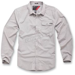 Alpinestars Gray Bloc Out Shirt - 1013-3102411S