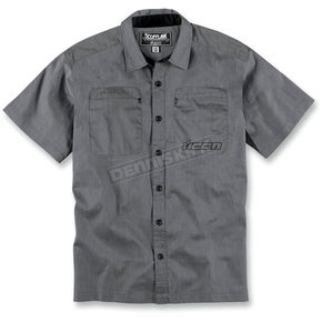 Icon Charcoal Scofflaw 2 Shirt - 3040-1675