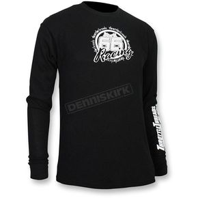 Throttle Threads Black Thermal Long Sleeve Shirt  - TT444T80BKXR
