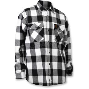 Throttle Threads Checkered Flannel Shirt - TT604F80BWMR