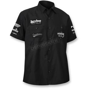Throttle Threads Black Team Throttle Threads Shop Shirt - TT620S24BK2R