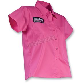 Throttle Threads Womens Jr. Fit Poison Shop Shirt - TT316S22PKXR