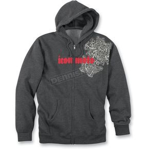 Icon Tyranny Zip-Up Hoody - 3050-0980