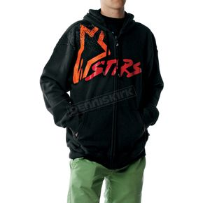 Alpinestars Black Perfect Hoody - 103952003-10-M