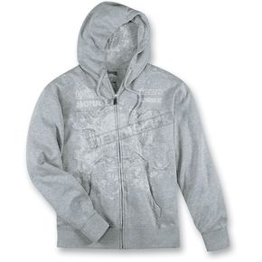 Icon Gray Rat Zip Hoody - 3050-1319