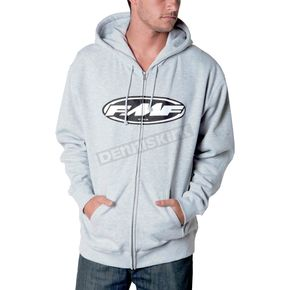 FMF Gray The Don Zip Hoody - F311S22101GYL