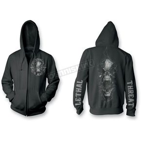 Lethal Threat Ripping Skull Hoody  - HD84002L