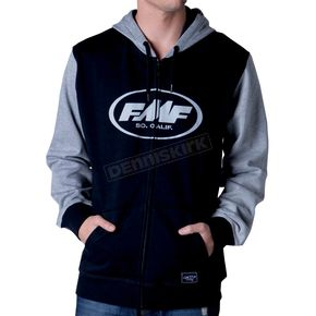 FMF Scorpion Zip Up Hoody - F4212200BLKL