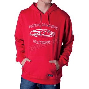 FMF Red Tried and True Hoody - F42121100REDXL