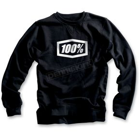 100% Black Corporate Sweatshirt - 36002-001-12