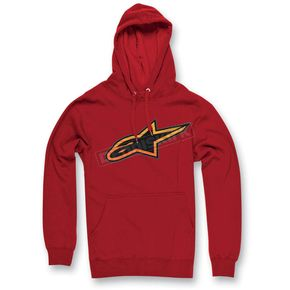 Alpinestars Red Spencer Pullover Hoody - 1013-5209030L