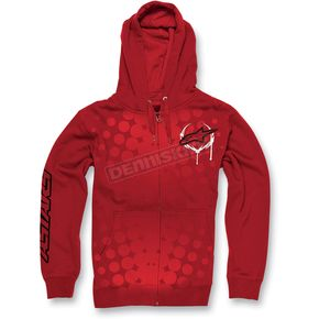 Alpinestars Red Daredevil Zip Hoody - 1013-5308130L