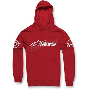 Alpinestars Red Recognized Pullover Hoody - 1013-5209230L