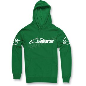 Alpinestars Green Recognized Pullover Hoody - 1013-5209260L