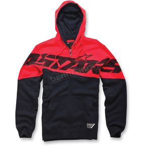 Alpinestars Red Throne Zip Hoody - 1013-5300230L
