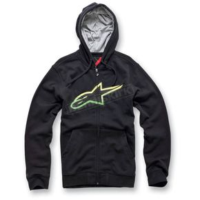 Alpinestars Black Spencer Zip Hoody - 1013-5300310L