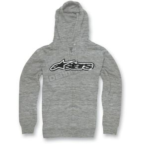 Alpinestars Heather Gray Decal Hoody - 1013-53084111L