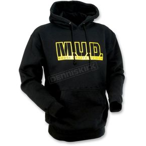 Moose Black M.U.D. Hoody - 3050-2246