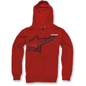 Alpinestars Red Plume Zip Hoody - 103353002030XXL