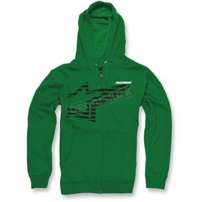 Alpinestars Kelly Green Plume Zip Hoody - 10335300260C2X
