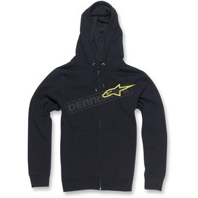 Alpinestars Black Ranking Zip Hoody - 10335300410AL