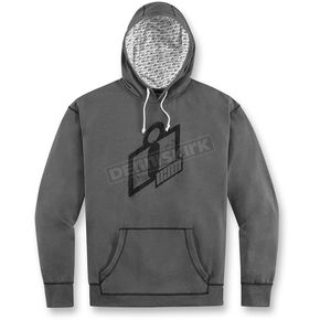 Icon Charcoal Double Up Hoody - 3050-2753