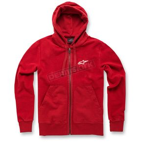 Alpinestars Bordeaux Expo Fleece Zip Hoody - 1036530003000XL