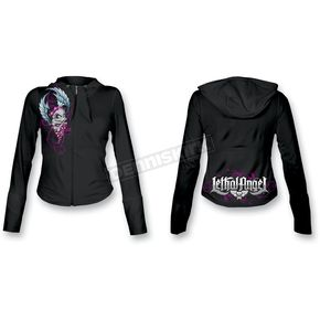 Lethal Threat Womens Girl Skull Hoody - HD84001L
